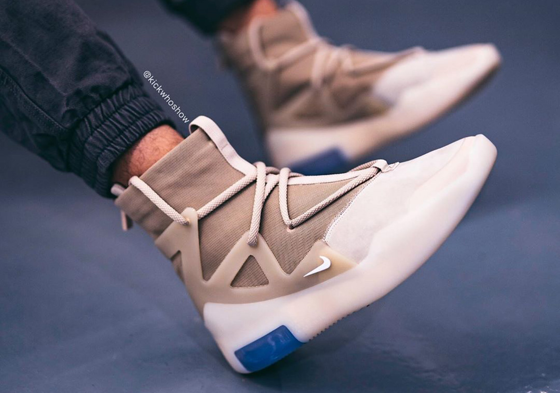 Nike Air Fear of God 1 Oatmeal AR4237 900 Release Date