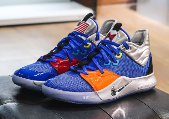 NASA And Paul George Link Up For Another Nike PG 3 Collaboration