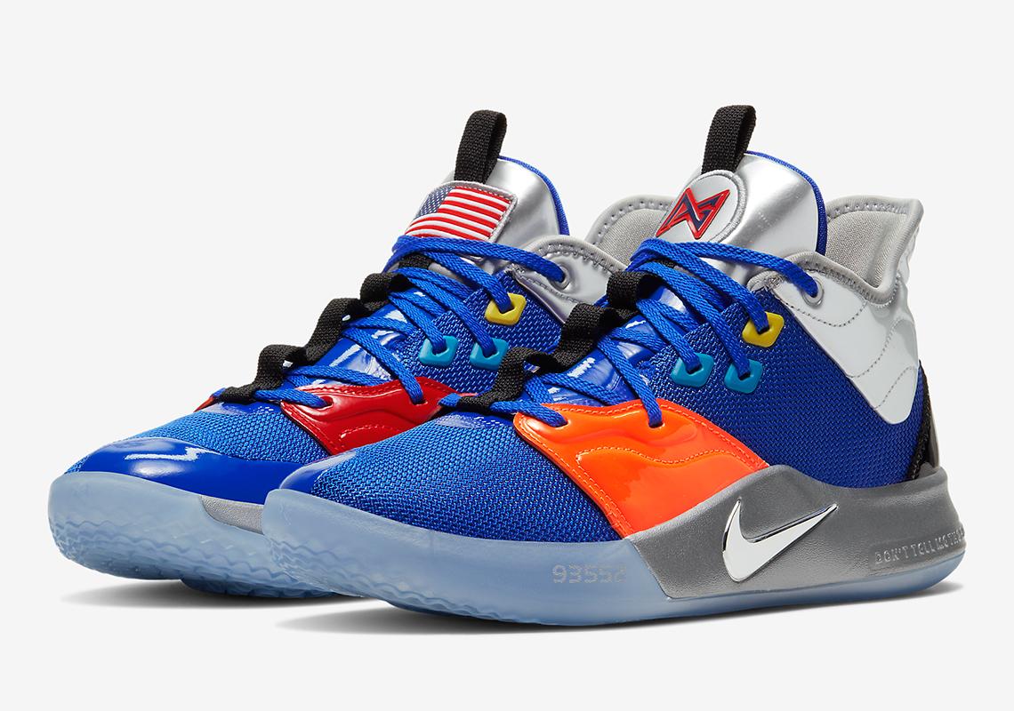 Nike PG3 NASA CI2667-400 - Release Info