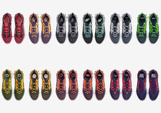 The Nike React Element 55 Represents An Assortment Of NFL Teams