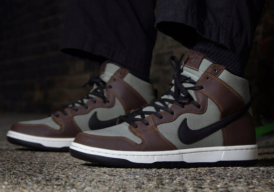 """Nike SB Dunk High """"Baroque Brown"""" Is Available Now"""