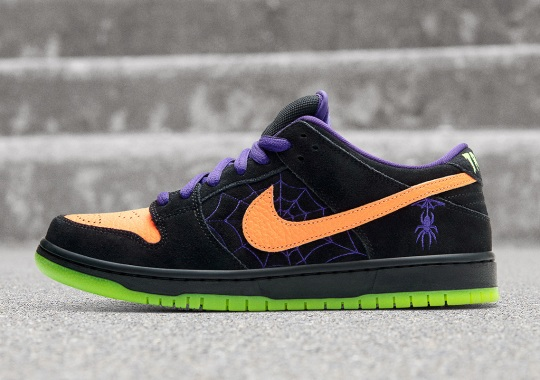 "Nike SB Dunk Low ""Night Of Mischief"" Made For Halloween"