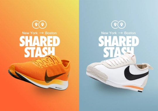 "Nike SNKRS Launches ""Shared Stash"", Connecting Communities In Different Cities"