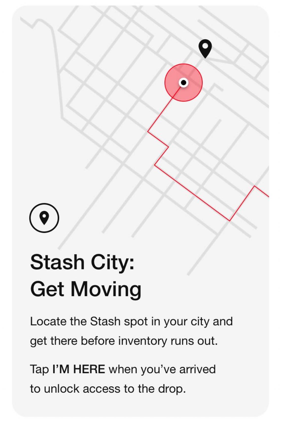 Nike SNKRS App Shared Stash Info