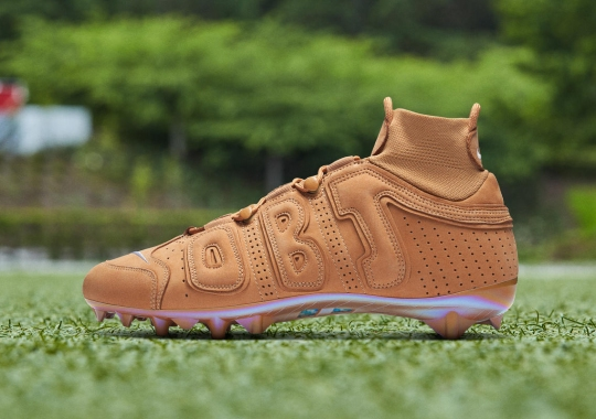 Odell Beckham Jr. Goes Full Wheat With Latest Nike Cleats