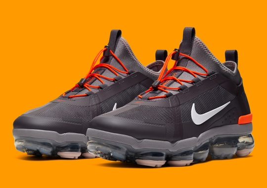 The Nike Vapormax 2019 Utility Appears In Thunder Grey And Sepia