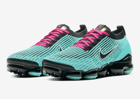 The Nike Vapormax Flyknit 3 Heads To South Beach With Vibrant Colorway