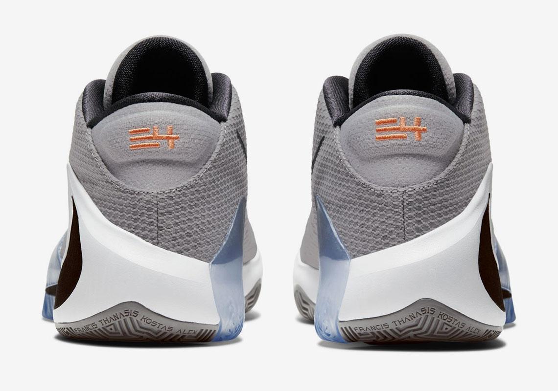 """Giannis' Nike Zoom Freak 1 Revealed In """"Atmosphere Grey:"""" Official Details"""