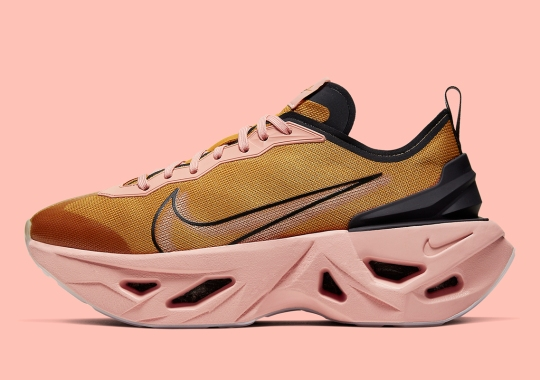 The Nike ZoomX Vista Grind Is Arriving In a Gold And Coral Stardust Colorway