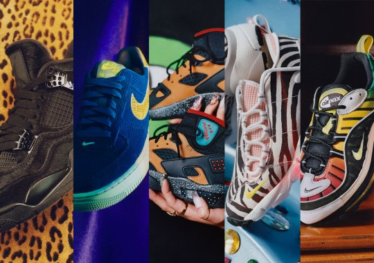Nordstrom's Olivia Kim Spins 90's Nightclub Nostalgia Into Nike Footwear Collection