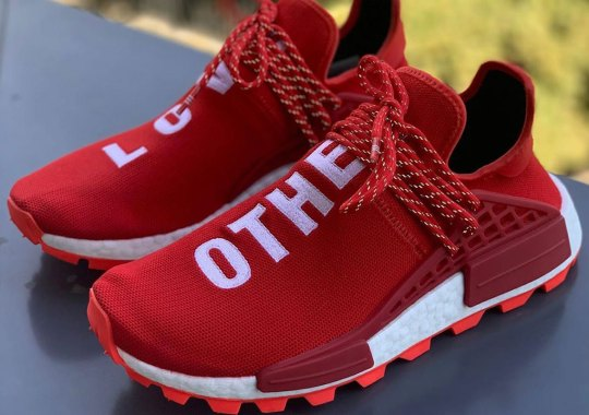 "First Look At The Pharrell x adidas NMD Hu ""Love Others"""