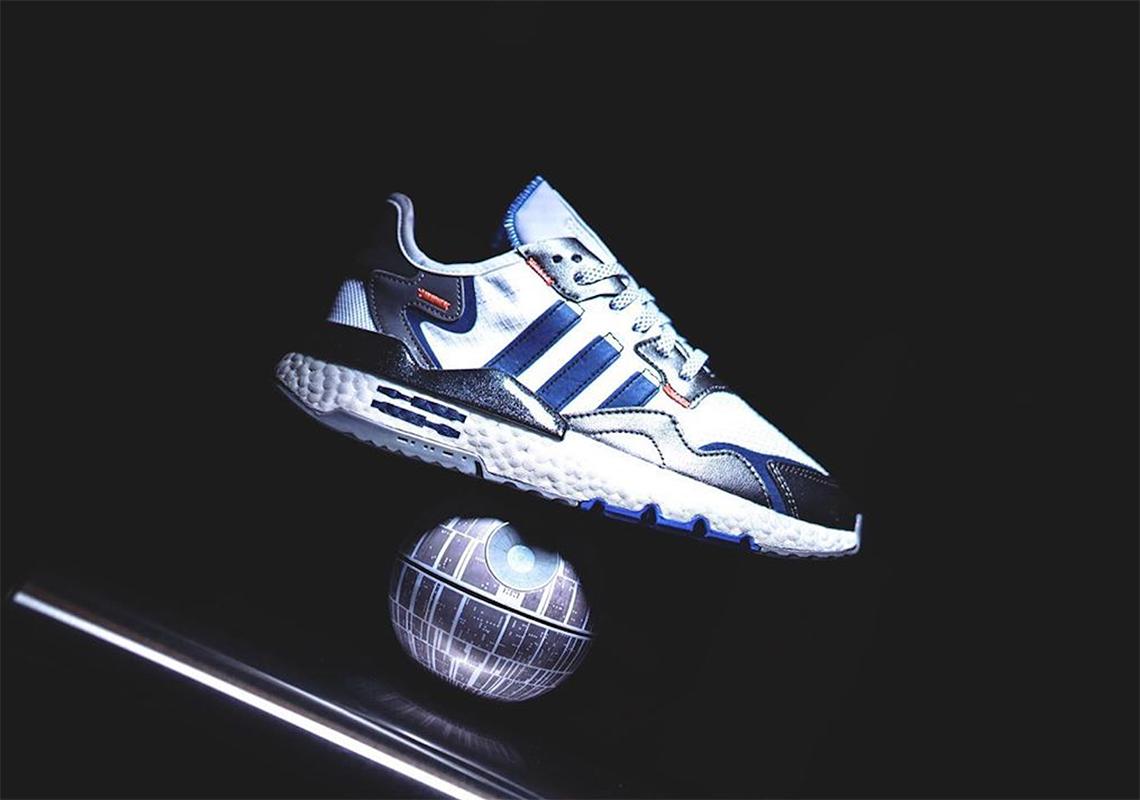 Como terrorista carpintero  Star Wars adidas Nite Jogger R2D2 Release Info | SneakerNews.com
