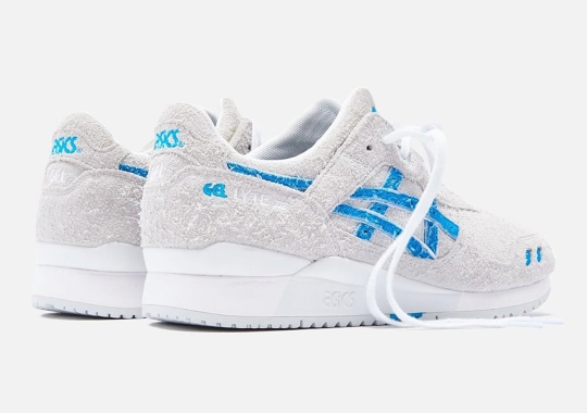 "Ronnie Fieg And ASICS Celebrate Decade Long Partnership With GEL-Lyte III ""Super Blue"""