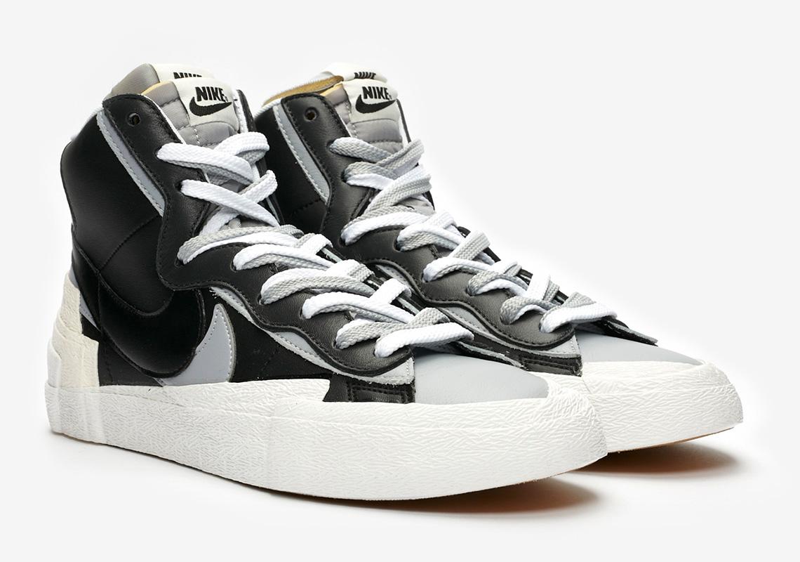 sacai Nike Blazer Mid Black BV0072-002