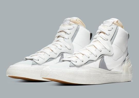 """Where To Buy The sacai x Nike Blazer Mid """"White"""""""