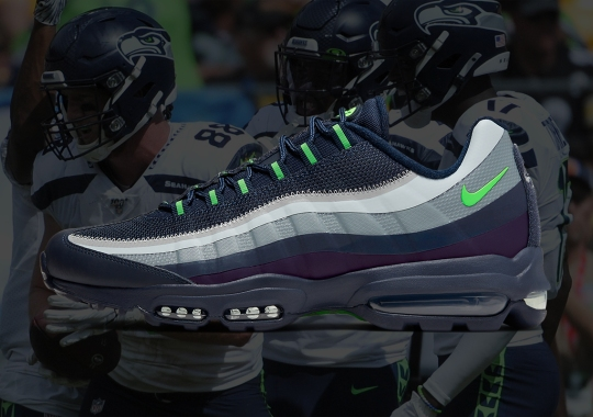 The Nike Air Max 95 Ultra Makes An Appearance In Seattle Seahawks Colors