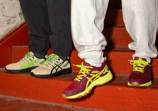 """size? And ASICS Draw A Path For The """"Base Camp & Mission"""" Collection"""