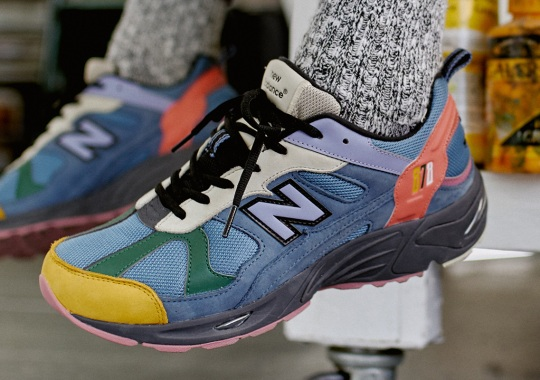 size? Paints Up A Colorful New Balance 878 Exclusive