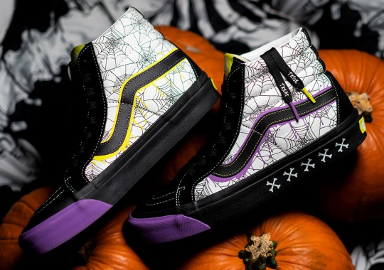 "size? And Vans Go Trick-Or-Treating With The Sk8-Hi ""Halloween"""