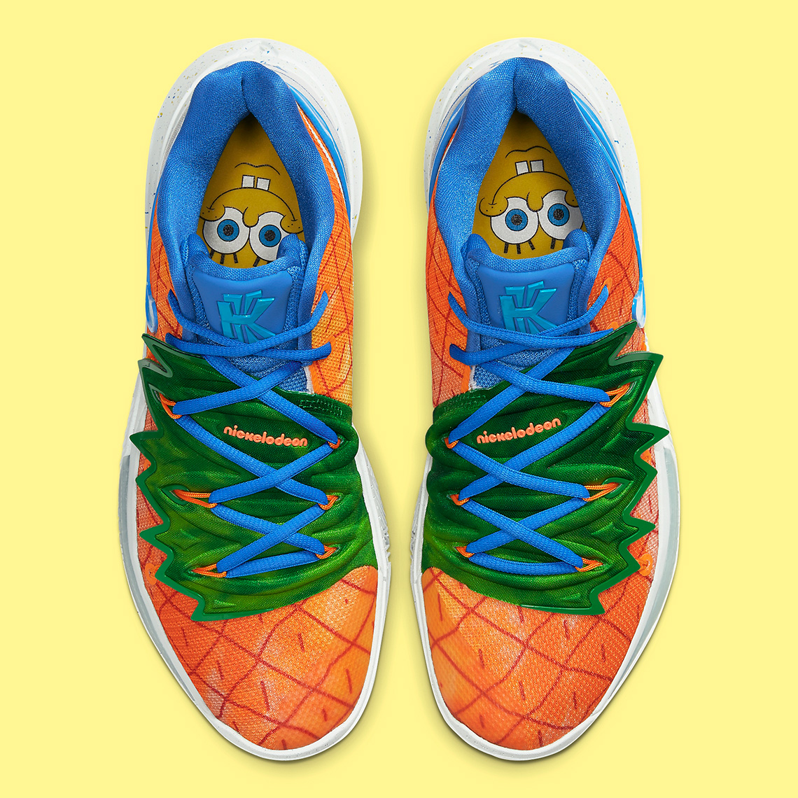 Spongebob Nike Kyrie 5 Pineapple House CJ6951-800 Store