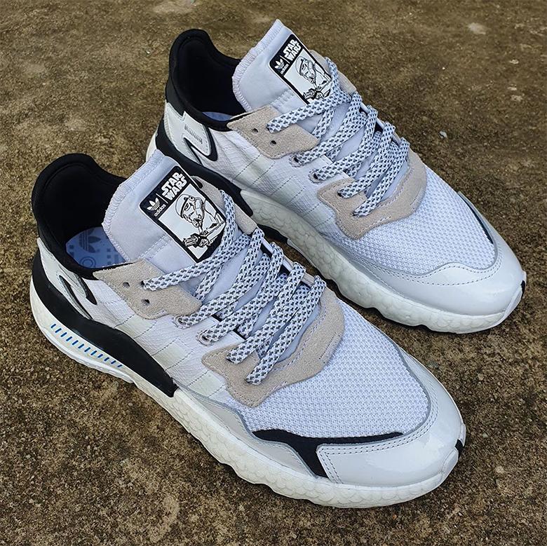adidas Nite Jogger Star Wars Shoes White   adidas US