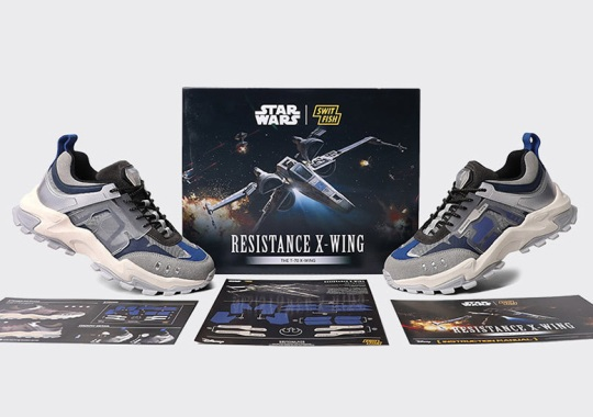 Korean Label SWITFISH Joins The Resistance With An X-Wing Inspired Star Wars Collaboration