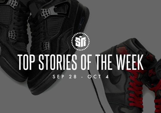 Fourteen Can't Miss Sneaker News Headlines From September 28th To October 4th