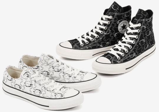 UNDERCOVER And Converse Addict To Release Chuck Taylor Collab With Signature Teddy Bear Character