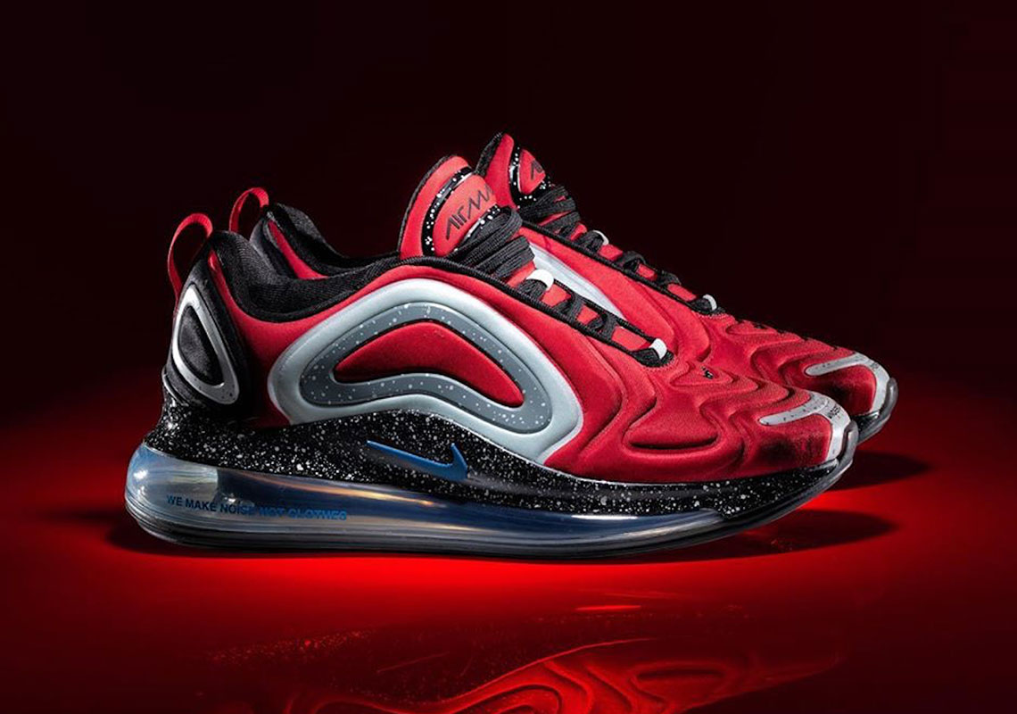 Undercover Nike Air Max 720 Black CN2408 001 Red CN2408 600