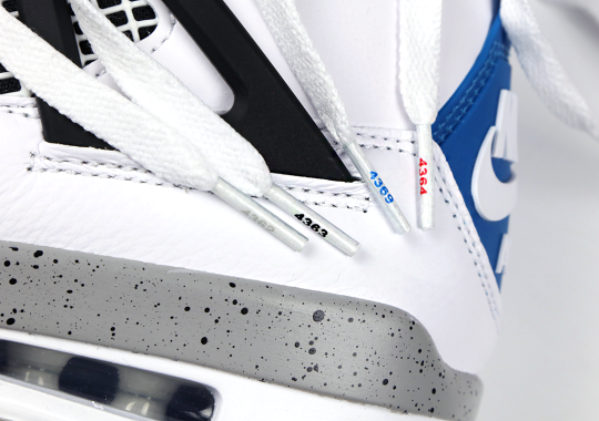 "This Impressive Detail On The ""What The"" Air Jordan 4 Is A Nod To The Original 1989 Releases"