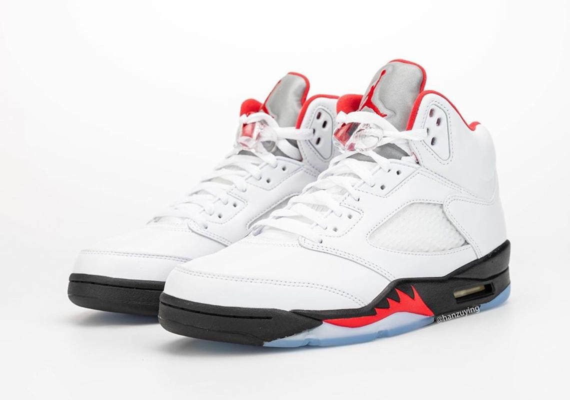 Air Jordan 5 Fire Red 2020 Da1911 102 Release Date Sneakernews Com