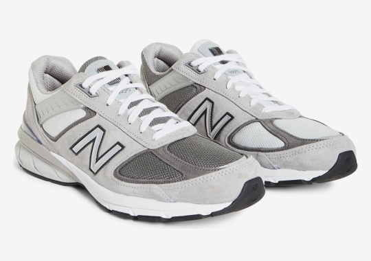 BEAMS Injects Asymmetry To A Greyscale New Balance 990v5