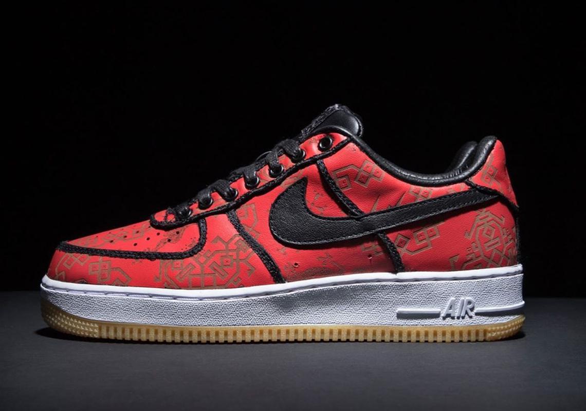 2019 Latest Fashion CLOT x Nike Air Force 1 Premium Low