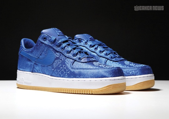 Where To Buy The CLOT x Nike Air Force 1