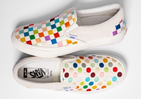 Damien Hirst And The Palms Casino Resort Unveil Vans Collection Featuring The Artists Signature Motifs