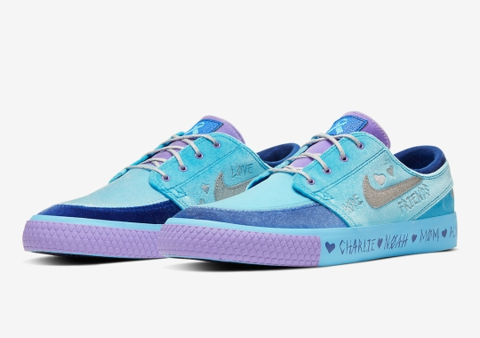 Official Images Of Desiree Castillo's Nike SB Zoom Janoski Doernbecher