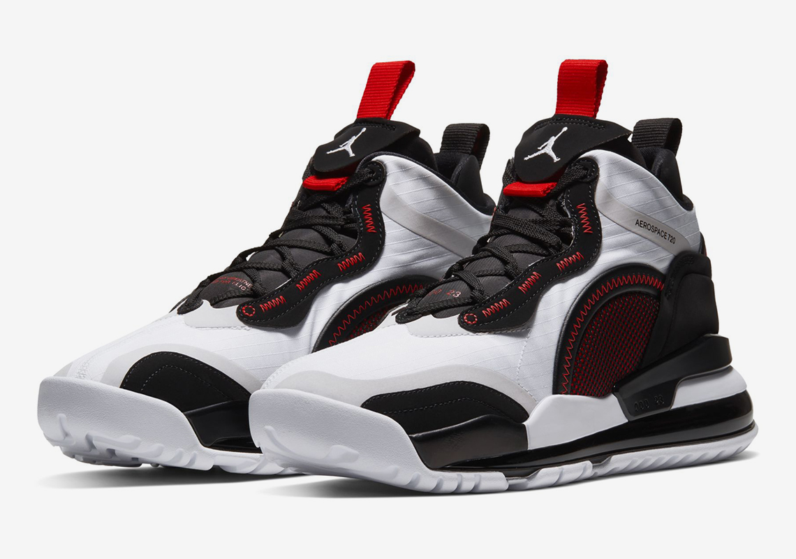 Jordan Aerospace 720 Black White Red Release Info | SneakerNews.com