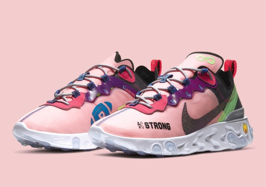 Official Look At Kahleah Corona's Nike React Element 55 Doernbecher