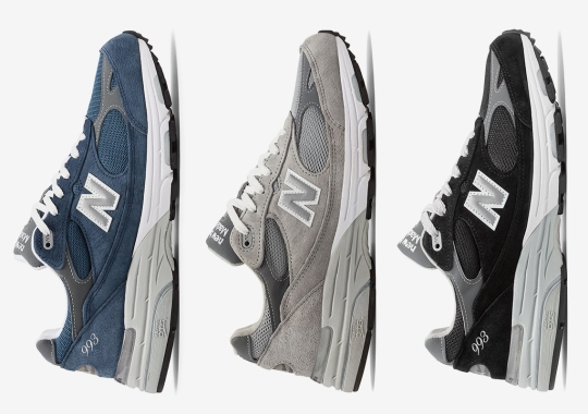 The New Balance 993 Made In USA Is Back In Three Timeless Suede Colorways