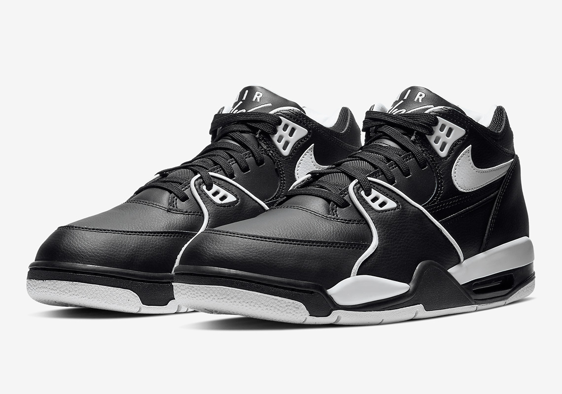 high fashion huge inventory best cheap Nike Air Flight 89 Black White CU4833-015 Release Info ...