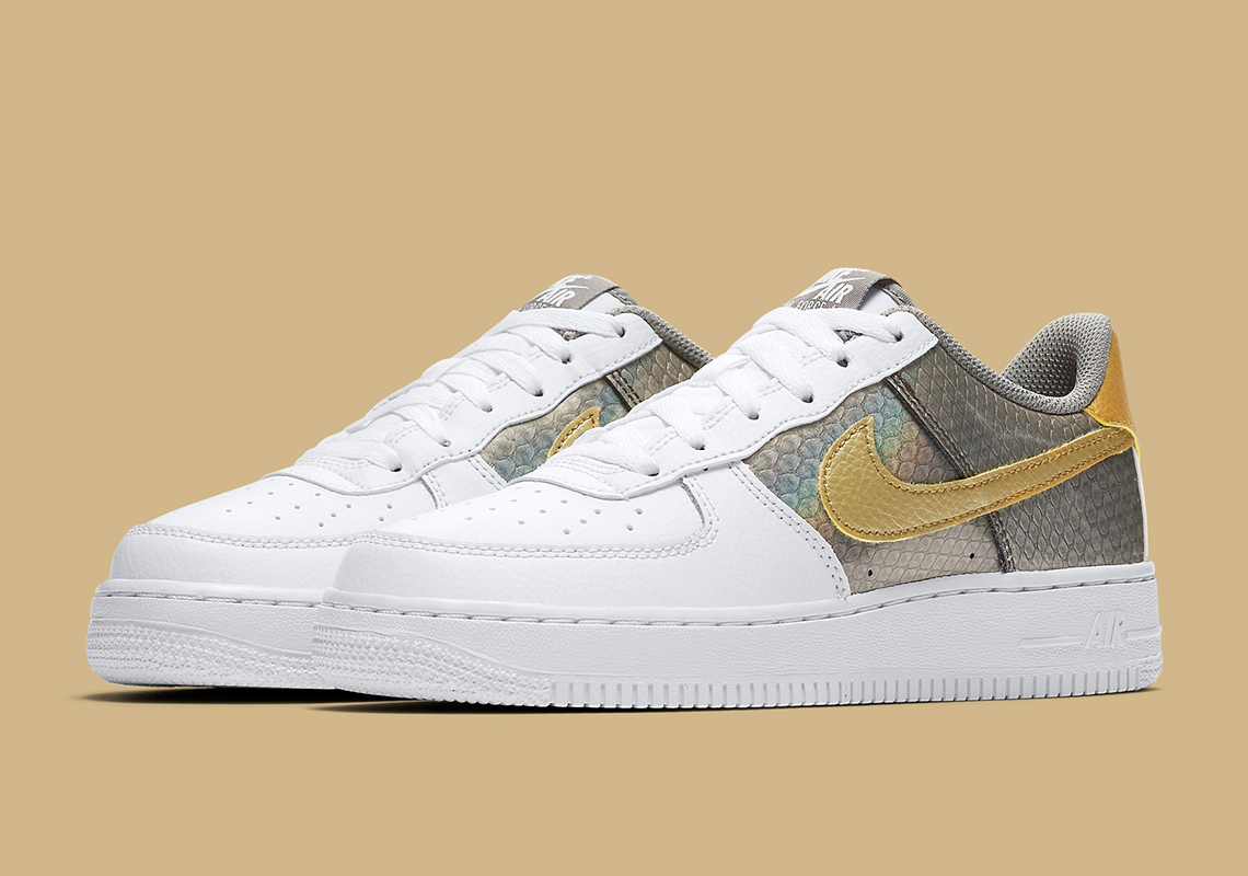 Nike Air Force 1 Kids Ci3910 100 Releae Date Sneakernews Com