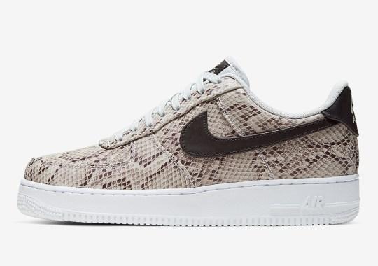 """Nike Air Force 1 Premium """"Snakeskin"""" To Kick Off Thanksgiving Shopping Week"""