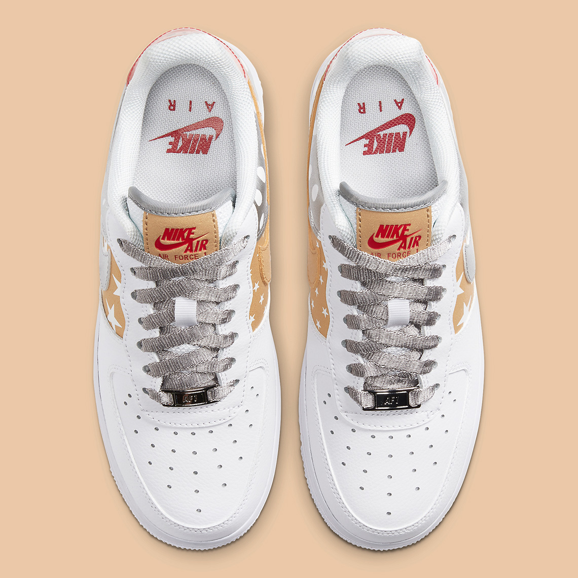 Nike Air Force 1 Low Receives Stars & Polka Dots Makeover: Official Images