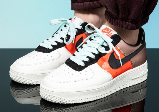 The Nike Air Force 1 Splits In Threes For Its Latest Women's Colorway
