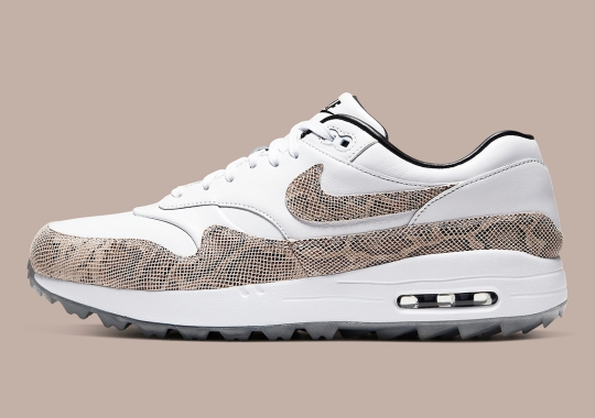 The Nike Air Max 1 Golf Dresses Up In Snakeskin For Black Friday