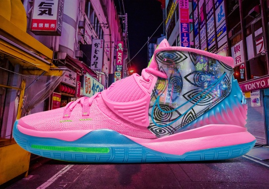 "Official Images Of The Nike Kyrie 6 Pre-Heat ""Tokyo"""