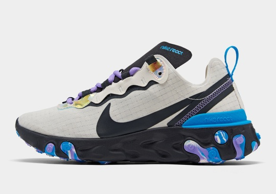 The Nike React Element 55 Revisits Grid Uppers With Upcoming Women's Release
