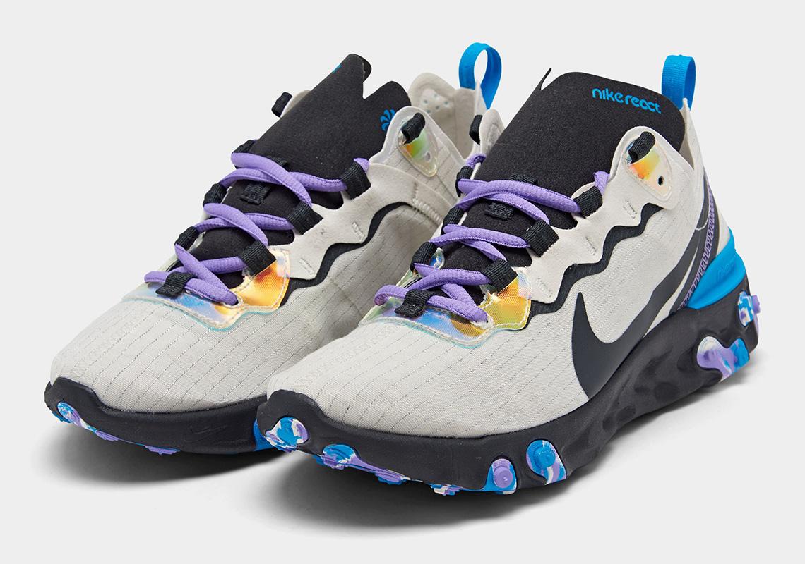 Incorrecto Cincuenta calentar  Nike React Element 55 CT1612-001 Release Date   SneakerNews.com