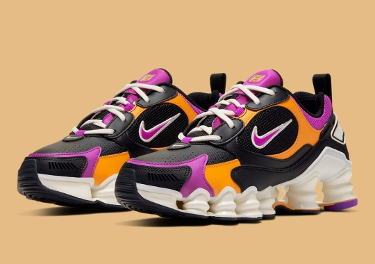 The Nike Shox Nova Arrives With Sherbet-Hinted Accents