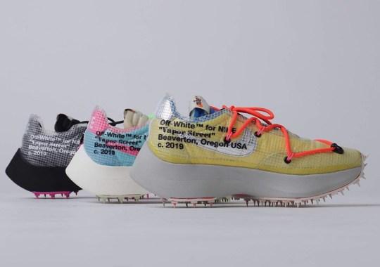 Virgil Abloh's Off-White x Nike Vapor Street Is Releasing On November 14th